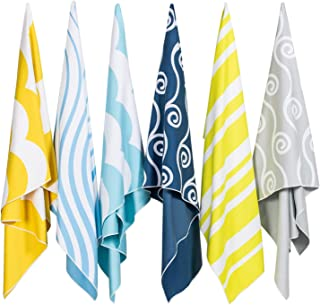 Easthills Outdoors Microfiber Beach Towels for Kids & Adults - Quick Dry, Ultra Absorbent, Sand Free (Extra Large XL 36 x 79, Large 30 x 60)