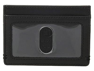 Lodis Accessories Topanga RFID Mini ID Card Case (Black) Handbags