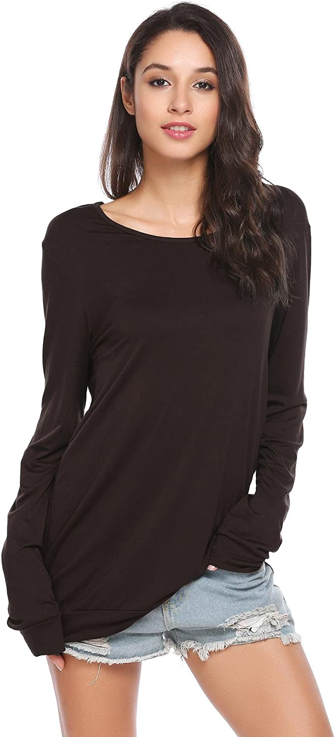 Cotton long sleeve petite tee 10