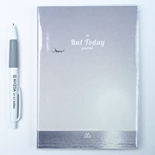 But Today Undated Monthly Weekly Diary with AHZOA Pencil, Dateless Planner, 5 x 7.09 Inches, Date is Not Printed (Sunset)