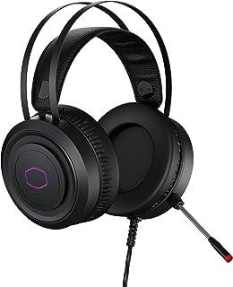 Headset Gamer Cooler Master CH321, Logo em RGB, Drivers de neodímio de 50mm, Conector USB A, Multiplataforma PC / NB / PS4...