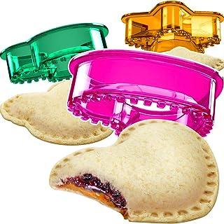 ساندویچ برش و سیلر - Decruster Sandwich Maker - مناسب برای Lunchbox و Bento Box - ناهار بچه گانه دخترانه و پسرانه - ساندویچ تراش مخصوص بچه ها (قلب ، ستاره ، موش)