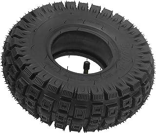 Elektrisk skoter yttre däck med innerrörssats, 3,00-4 Elektrisk skoter däck för 3-hjuliga äldre rörlighet skoter skottkärra