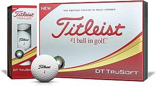TITLEIST(タイトリスト) ゴルフボール 2018 DT TRUSOFT 2ピース 12個入り ホワイト T6033S-J