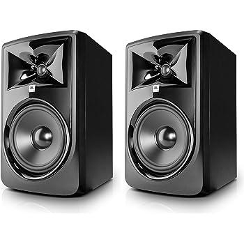 "JBL Professional 306P MkII Next-Generation 6"" 2-Way Powered Studio Monitor (306PMKII) (Pair)"