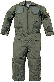 Kid's US Pilot Flight Suit Uniform with Hook and Loop Patch