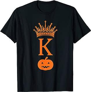 Halloween Pumpkin King Trick Treat Costume Fall Men Boys T-Shirt