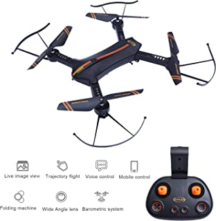 FPV RC Drone – LBKR Tech WiFi Live Feed RC Quadcopter with Camera,2.4Ghz 6-Axis Gyro 4CH Remote Control Quadcopter Drone with Altitude Hold, Headless, One Key Take Off, Landing, Return Home