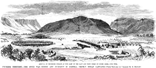 Great Sioux War 1876 Narrival Of Shoshone Native Americans At The US Military Camp On The Forks Of The Goose Creek In Wyom...
