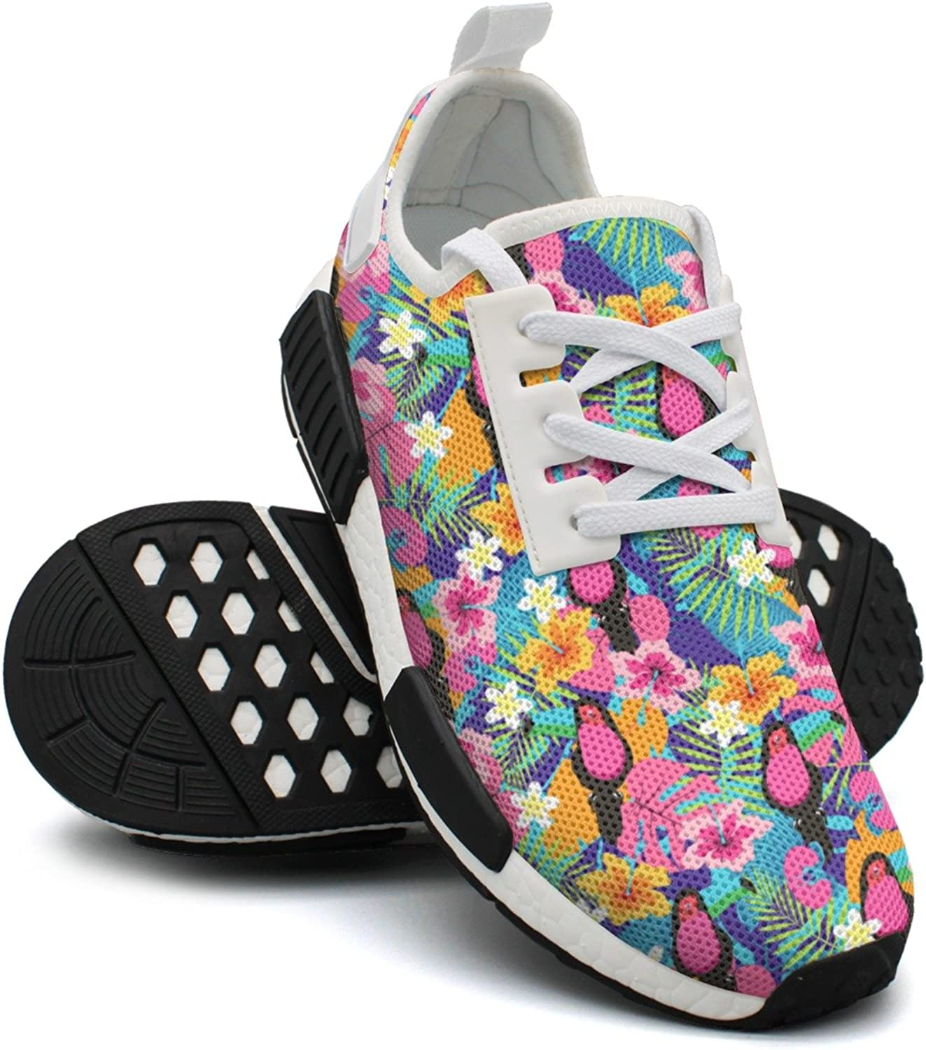Ktyyuwwww Pretty Women colorful Printing What Do Toucans Eat Unique Design Running shoes