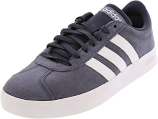 adidas Womens VL Court 2-0 Suede Low Top Lace Up Fashion Sneakers US