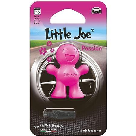Little Joe Im Mini Blister By Sunstop Made In Italy Lufterfrischer 45 Tage Frische Im Fahrzeug Einfach Mit Dem Beiliegenden Clip Auf Den Lüftungsschlitz Fixieren Passion Pink Auto