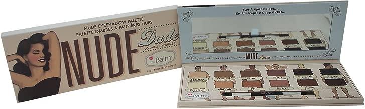 theBalm Nude Dude Eyeshadow Palette, 12 Triple-Milled Shades