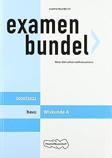 Examenbundel havo Wiskunde A 2020/2021