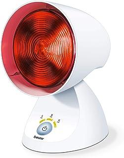Beurer Lampe à Infrarouge IL 35 - Lumière et Chaleur pour votre Bien-Être- Lampe Chauffante Bienfaisante en Cas de Rhumes ...
