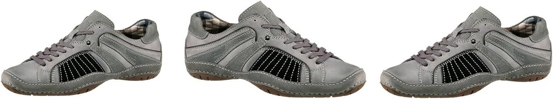 Bugatti Herren Schnürschuh Turnschuhe Schnüren Schuhe, Grau, Gr. 40