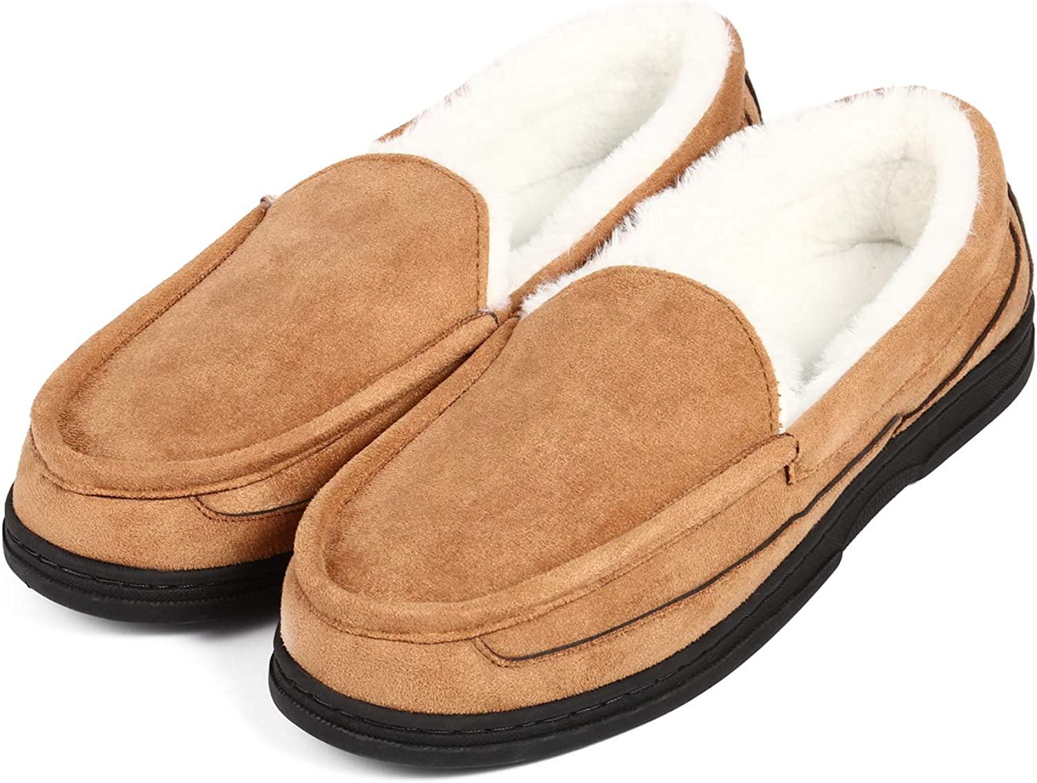 Men's Moccasin Slippers House Shoes Comfort Warm Our shop OFFers the Ranking TOP11 best service Memory