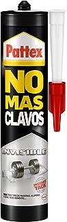 comprar comparacion Pattex No Más Clavos Invisible, pegamento resistente transparente, pegamento extrafuerte para madera, metal y más, adhesiv...
