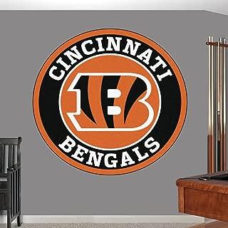 Cincinnati Bengals sticker, Cincinnati Bengals decal, Bengals decal, Bengals sticker, Bengals home decor, Cincinnati Bengals car sticker, NFL Bengals sticker, NFL decal, Bengals wall decal f16 (3x3)