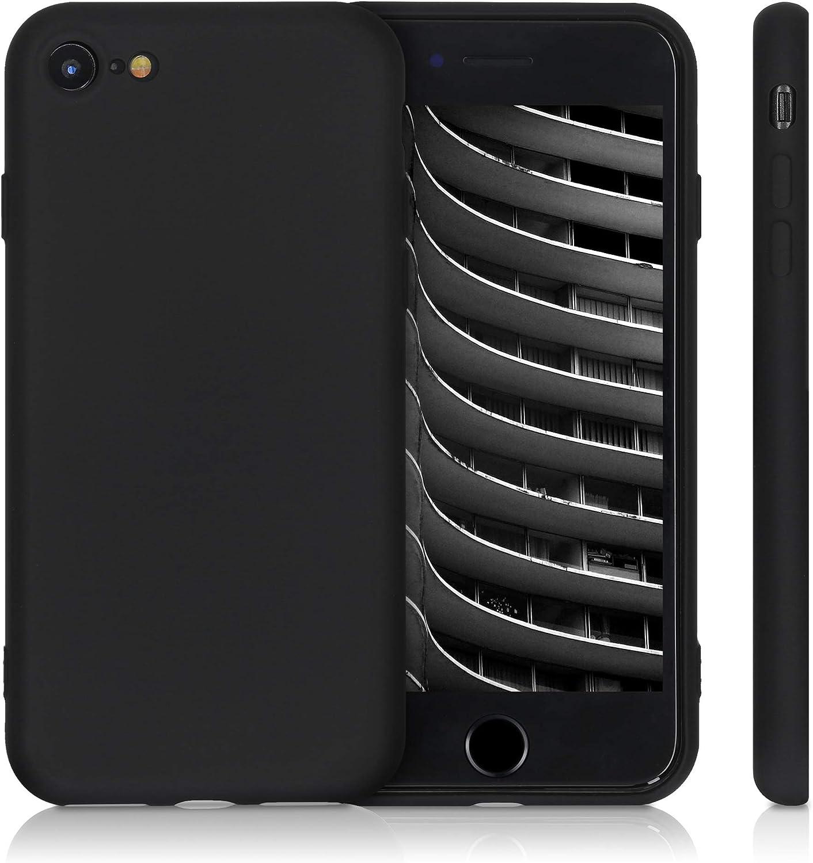 Cover Trasero en Azul Claro Mate 2020 kwmobile Funda Compatible con Apple iPhone 7//8 // SE - Carcasa de Silicona TPU para m/óvil