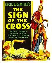 Posterazzi Sign of The Cross Elissa Landi Fredric March On Window Card 1932 Movie Masterprint Poster Print (24 x 36)