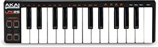 AKAI Professional LPK25 | USB-powered MIDI Keyboard with 25 Velocity-Sensitive Synth Action Keys for Laptops (Mac & PC), Editing Software included (Renewed)