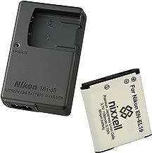 Nikon MH-66 Charger for Nikon EN-EL19 Coolpix S100, S3100, S3200, S3300, S3500, S3600, S3700, S4100, S4200, S4300, S5200, S5300, S6400, S6500, S6800, S6900, S7000 Digital Camera + 1 Bonus Battery!