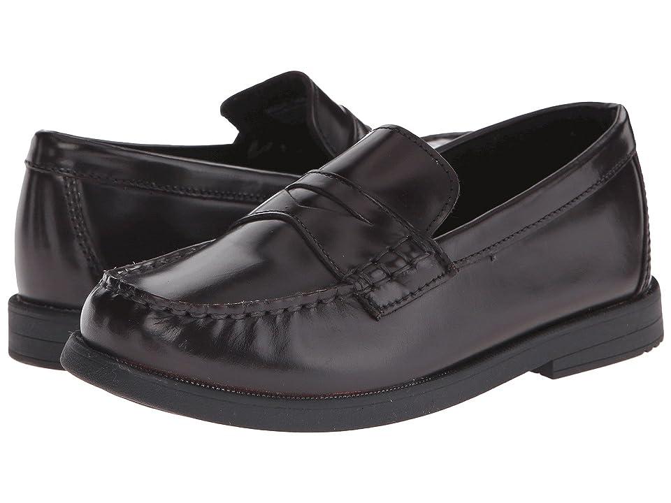 Florsheim Kids Croquet Penny Loafer Jr. (Toddler/Little Kid/Big Kid) (Burgundy) Boys Shoes