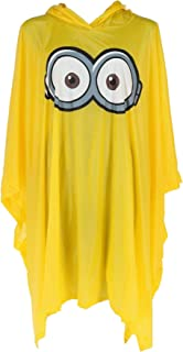 Despicable Me Illumination Entertainment Minion Rain Poncho, Yellow