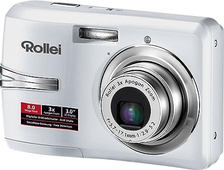 Rollei Rcp 8330x 3 Zoll Weiß Kamera