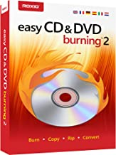 Roxio Easy CD and DVD Burning 2, Disc Burner and Video Capture [PC Disc]