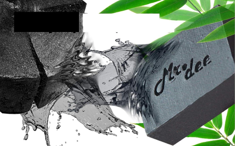 オーバードローキャッチ移行する「Mr.Dee」100%ナチュラルソープバー非化学シアバターディープクレンジングバンブーチャコール&ハニーパック5バー(100グラム/バー)