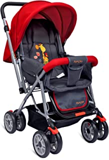 Little Pumpkin Baby Stroller - Pram (Red)