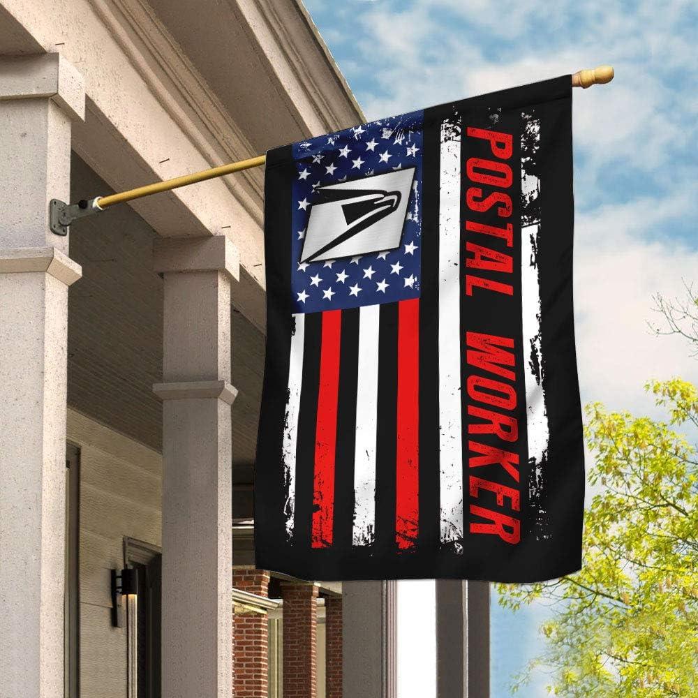 価格交渉OK送料無料 Flags-Postal Worker Flag QNK124F House x -USA 39.5