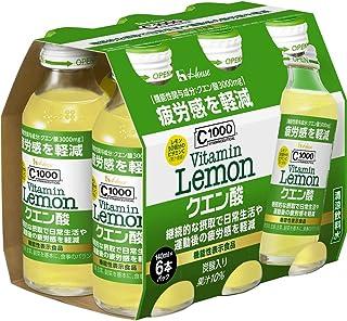 ハウスウェルネスフーズ C1000 ビタミンレモン クエン酸 140ml×6本