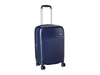 Lipault Paris Dazzling Plume 22 Carry-On Spinner (Pearl Navy) Luggage