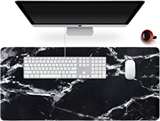 """Anyshock Desk Mat, Extended Gaming Cute Mouse Pad 35.4"""" x 15.7"""" XXL Laptop Beauty Mousepad with Stitched Edges Non Slip Ba..."""