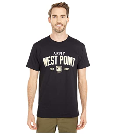 Champion College Army Black Knights Jersey Tee (Black 4) Men