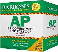 Barron's AP U.S. Government and Politics Flash Cards (Barron's Test Prep)
