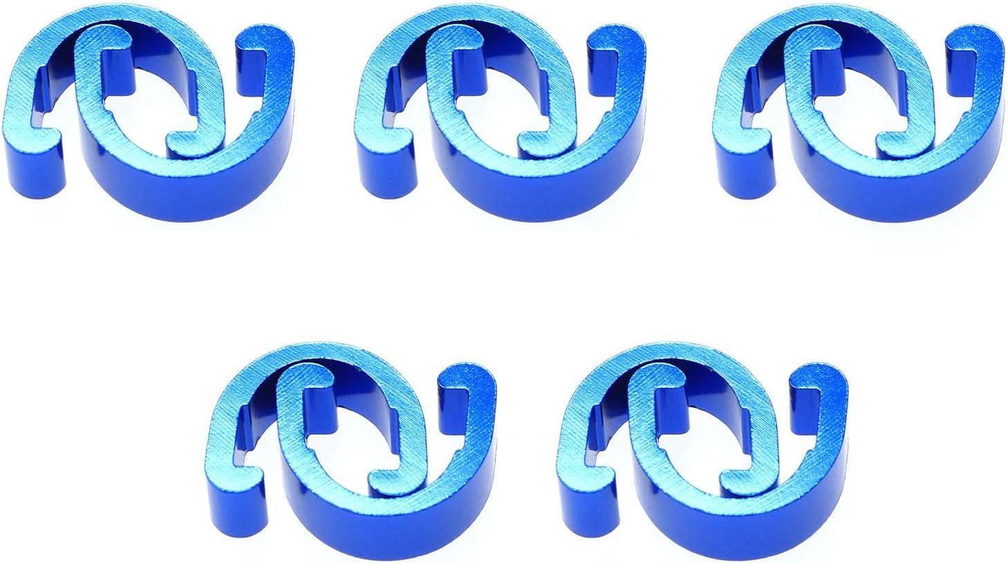 DTTRA Outlet SALE 10PCS C-Clips 70% OFF Outlet Clamps Aluminum Buckle U-Clips Alloy Metal B