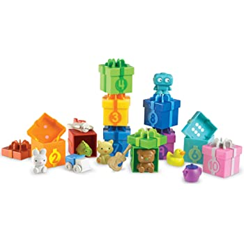 Learning Resources Counting Surprise Party, Homeschool, Fine Motor, Counting & Sorting Toy, Ages 3+