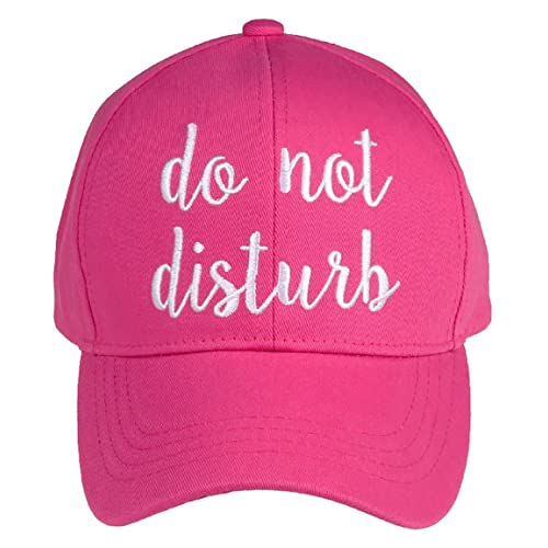 a7c4203f59a4a Funky Junque Women s Baseball Bold Cursive Embroidered Sayings Adjustable  Hat