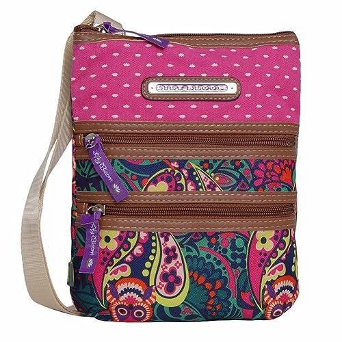 ea1f89519c2e Lily Bloom Multi Section Eva Mini Crossbody Bag