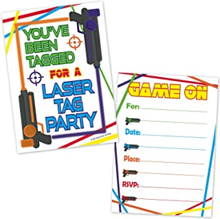 Best blank laser tag invitations Reviews