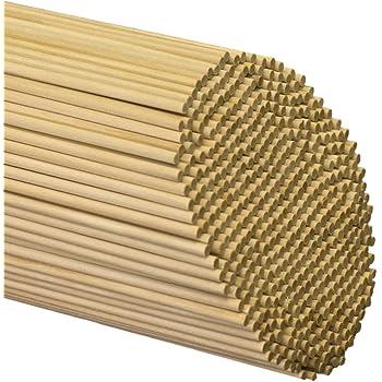 """Wooden Dowel Rods 3/16"""" x 12"""" - Bag of 25"""