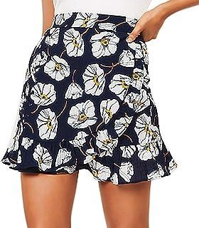 Denim Skirt Women Sexy Plaid ing Casual Party High Waist Mini Skirt