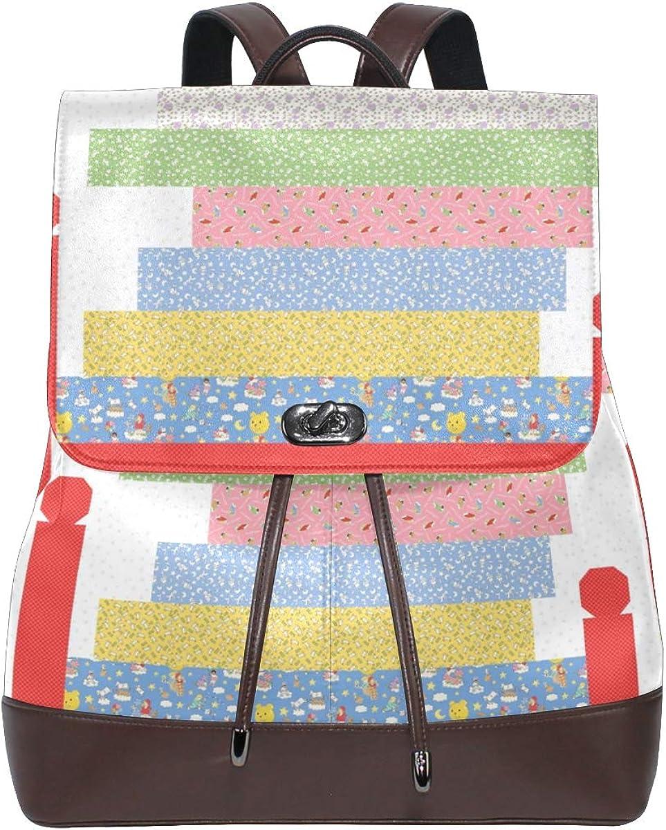 Sleepy Fees free!! Cat Backpack Purse Fashion Ruc Popular popular Leather Casual PU