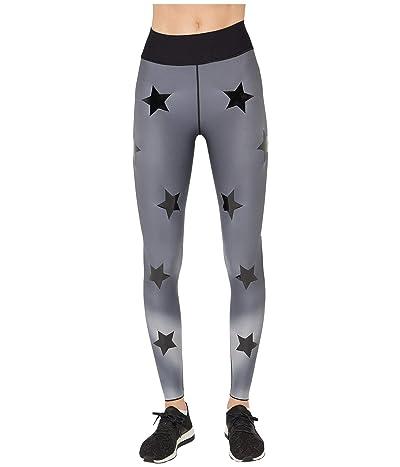 Ultracor Hypercolor Ultra High Leggings (Grey Print/Patent Nero) Women