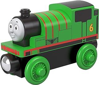 Thomas & Friends Locomotora de Madera Percy, Tren de Juguete niños +2 años (Mattel GGG30)