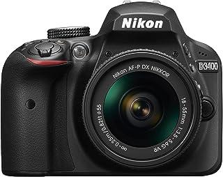 Nikon デジタル一眼レフカメラ D3400 AF-P 18-55 VR レンズキット ブラック D3400LKBK